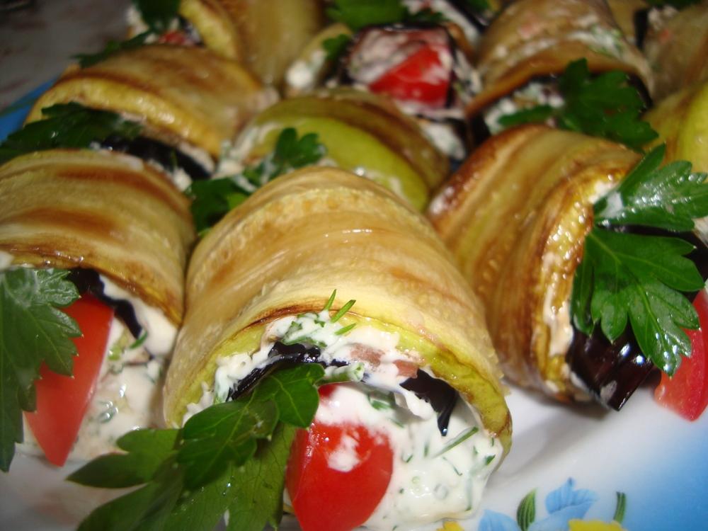Закуски кабачки баклажаны с фото