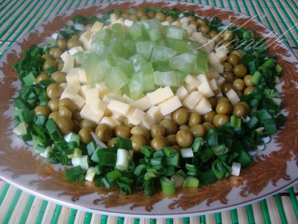 Как сделать салат с зеленым горошком 190