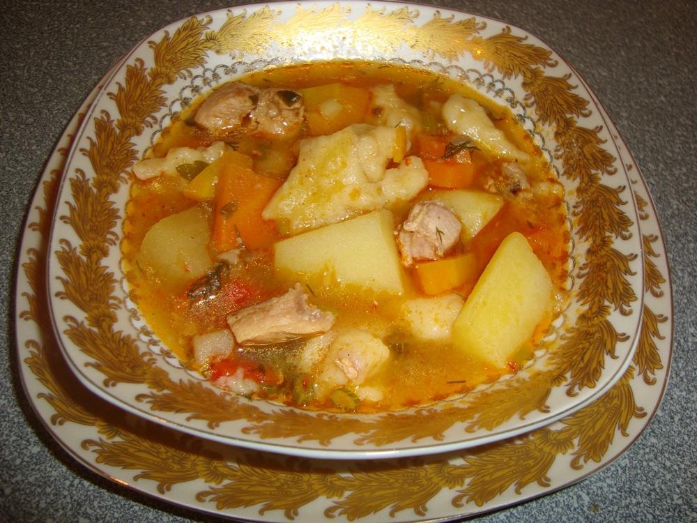 Легко приготовить куриный суп